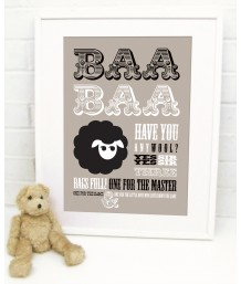 Baa Baa Limited Edition Print